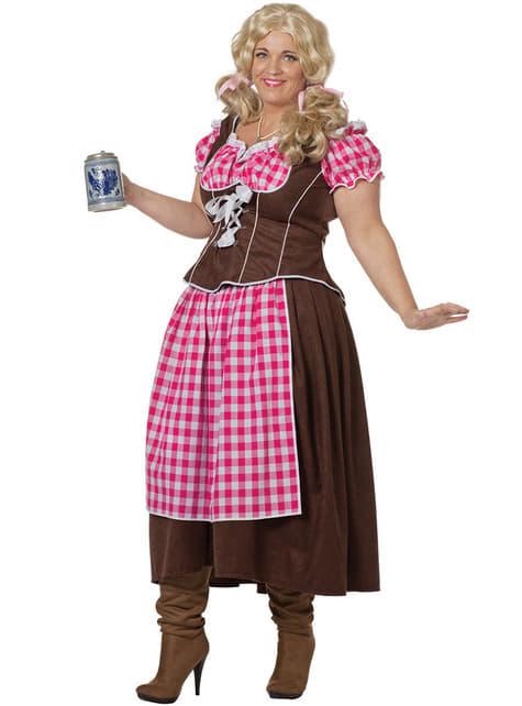 Pinkki Oktoberfest asu naisille