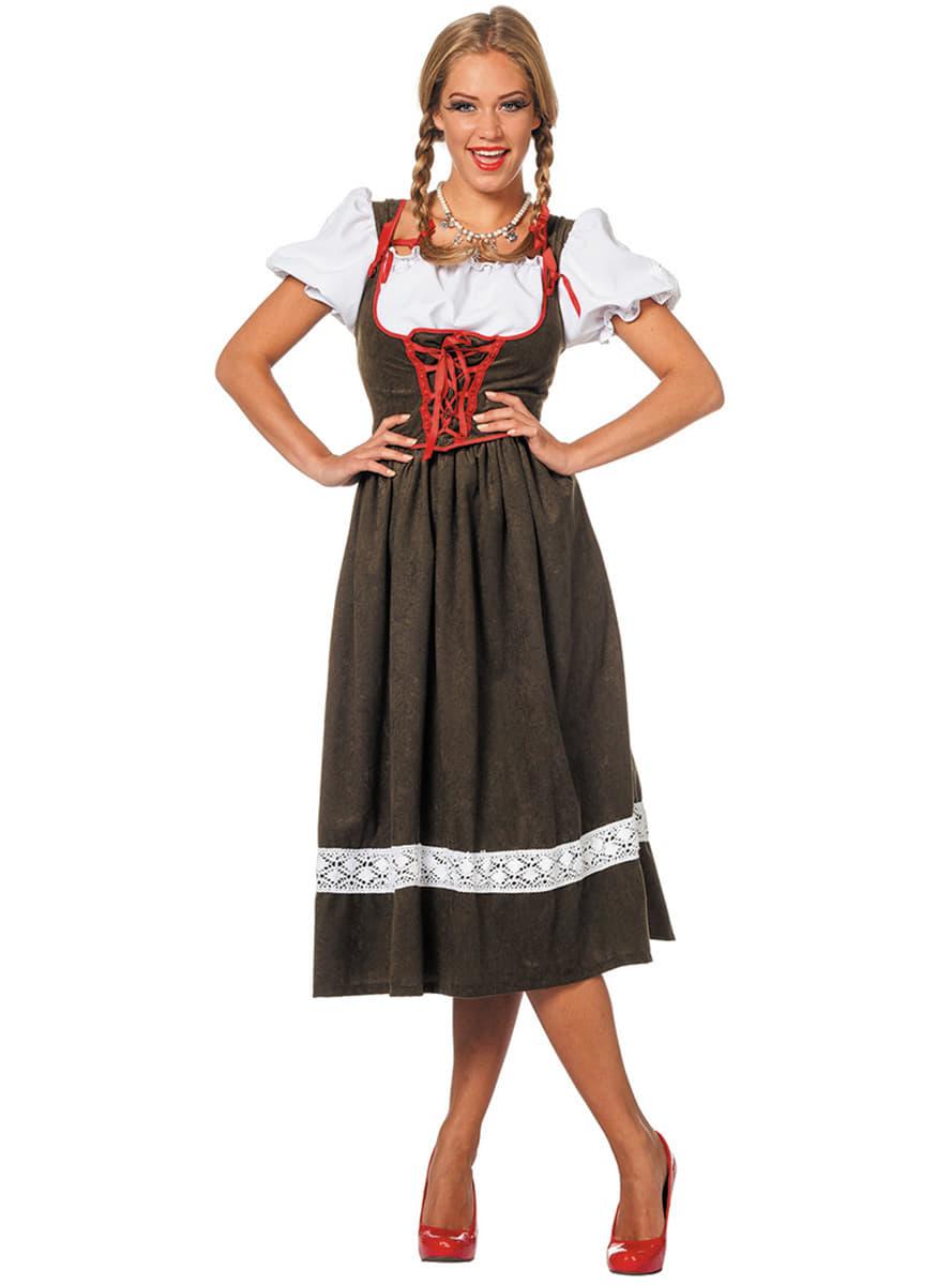 Austrian woman Oktoberfest costume for women. Express ...