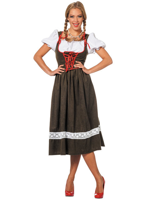 Disfraz de austriaca Oktoberfest para mujer - traje