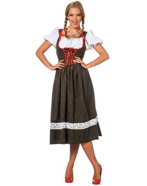 Østerisk Kvinne Oktoberfest kostyme til dame