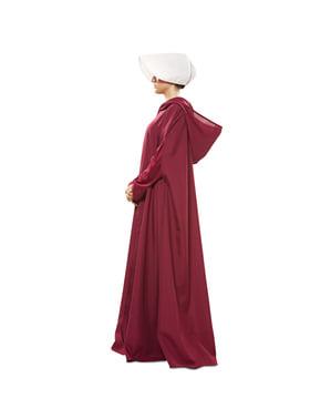 Handmaid's Tale kostume med kappe