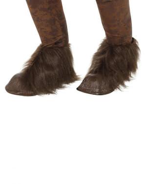 Tapa botas de Krampus para adulto