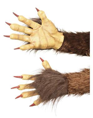 Krampus Handschuhe für Erwachsene