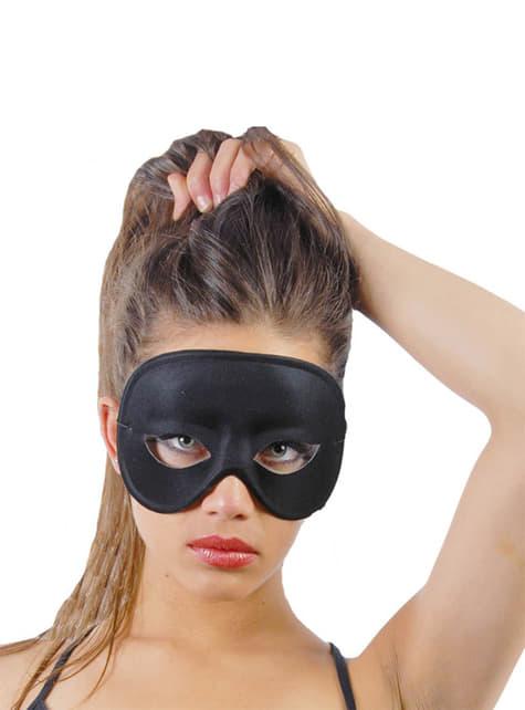 Czarna maska na oczy
