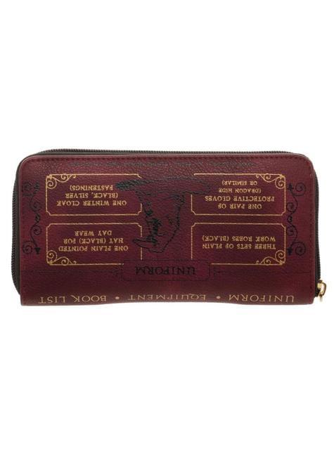 Hogwarts School List wallet - Harry Potter