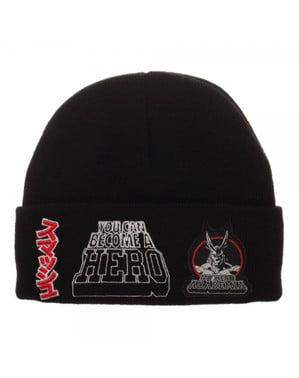 Black My Hero Academia beanie hat