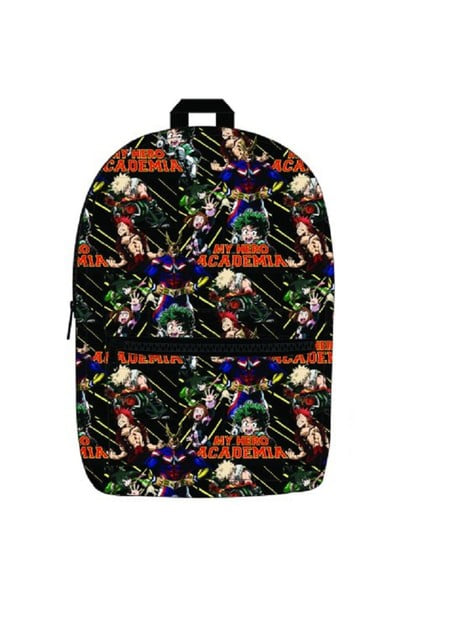 My Hero Academia print backpack