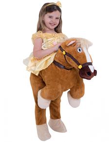 Cosgtume di Bella ride on per bambina- La bella e la Bestia