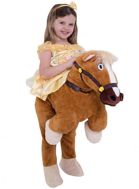 Belle Ride On costume for girls - Beauty and the Beast
