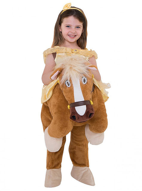 Disfraz de Bella ride on para niña - La Bella y la Bestia - niña