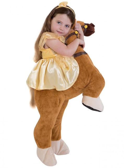 Disfraz de Bella ride on para niña - La Bella y la Bestia - traje