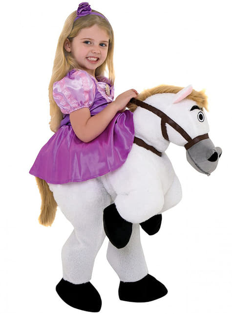 Rapunzel Ride On costume for girls