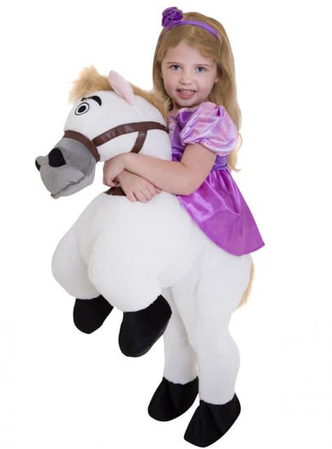 Disfraz de Rapunzel ride on para niña - traje