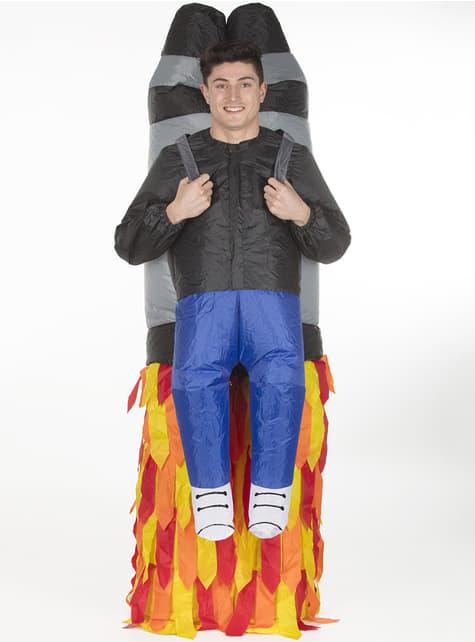 Disfraz de jetpack hinchable para adulto
