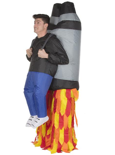Disfraz de jetpack hinchable para adulto - adulto