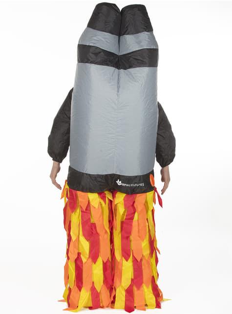 Disfraz de jetpack hinchable para adulto - original