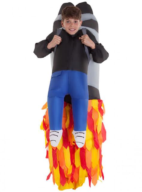 Aufblasbares Jetpack Kostüm für Kinder