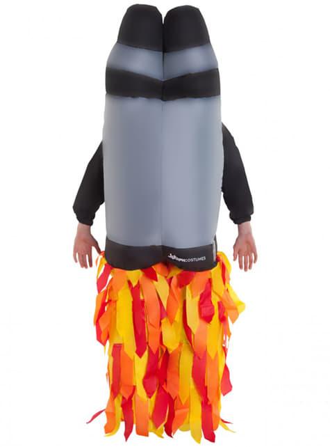 Disfraz de jetpack hinchable infantil