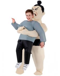 Disfraz de sumo hinchable infantil
