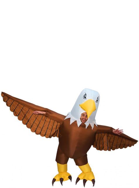 Disfraz de águila hinchable para adulto - adulto