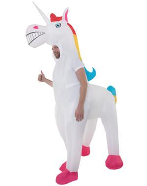 תחפושת Unicorn מתנפח למבוגרים