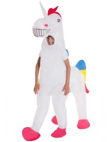 Disfraz de unicornio hinchable infantil