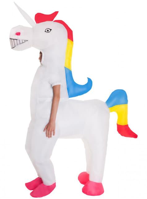 Disfraz de unicornio hinchable infantil - infantil