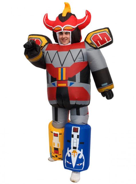 Fato de Megazord insuflável para adulto - Power Rangers