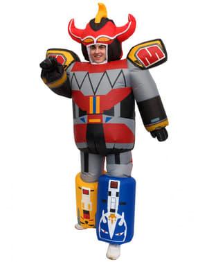 Oppusteligt Megazord kostume til voksne - Power Rangers