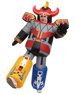 Opblaasbaar Megazord kostuum voor volwassenen - Power Rangers