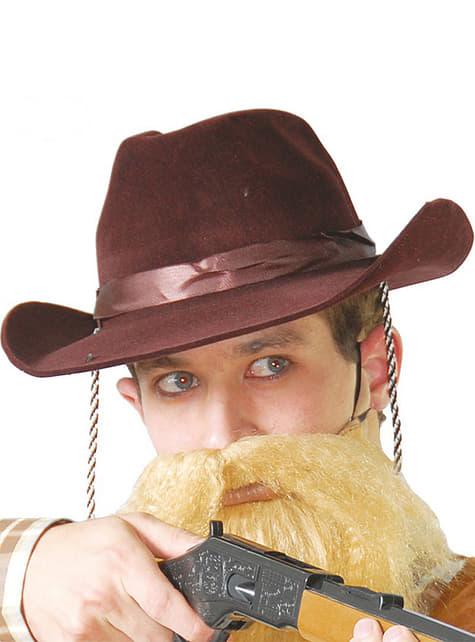Brun cowboyhat