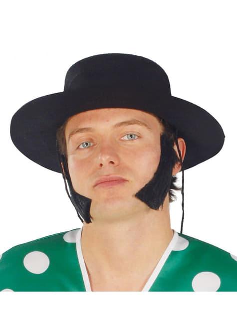 Pălărie cordobeză neagră