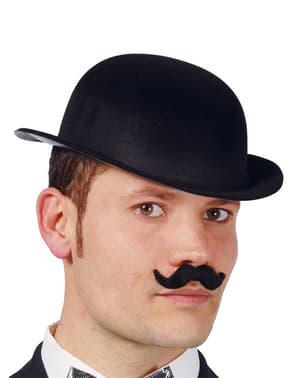 Svart Bowler Hatt
