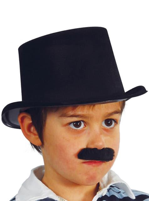 Sombrero chistera negro infantil