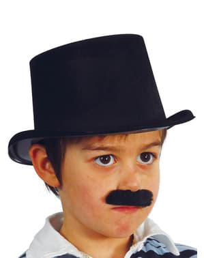 Cappello a cilindro nero per bebè