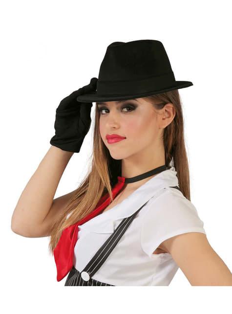 Black Al Capone Hat