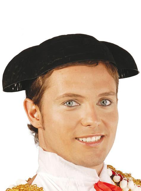 Toreadorský klobouk černý