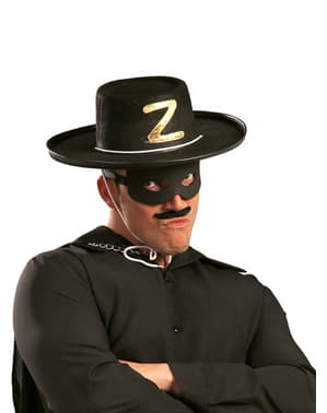 Chapéu de bandido de feltro