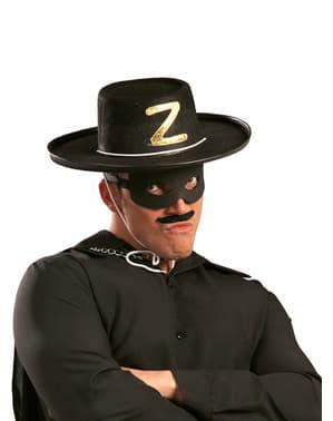 Sombrero de bandido de fieltro