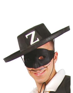 Sombrero bandido de fieltro