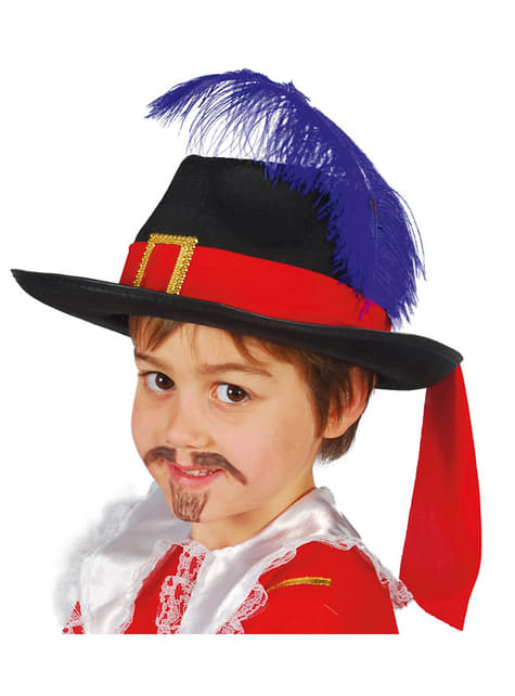 Мускетари с шапка за малки деца