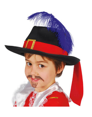 Chapéu mosqueteiro infantil
