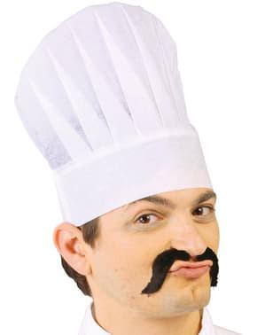 Chapéu de cozinheiro de papel