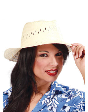 Chapéu de verão de palha