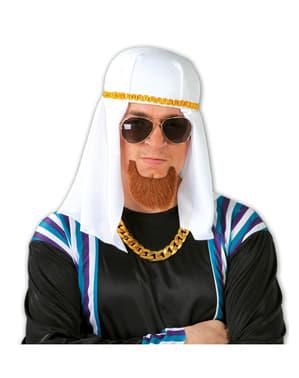Arabisk huvudbonad i tyg