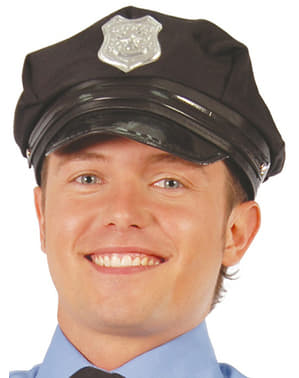 Police Hat with Visor