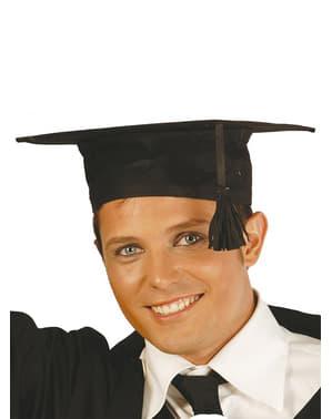 Chapéu de graduado de tela