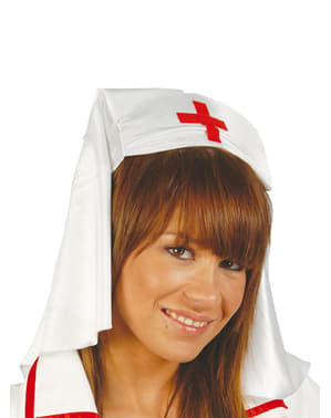 Stoffen verpleegster hoodstuk