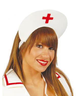 Hovedpynt til sygeplejerske i filt