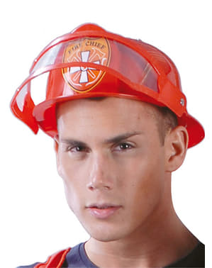 Casque chef pompier